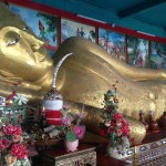 Wat Chedi Luang(ワット・チェディ・ルアン)の涅槃仏
